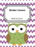Binder Covers (Editable)