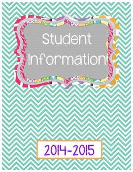 Binder Covers 2014-2015