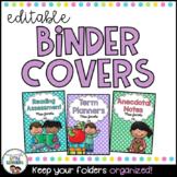 Binder Covers - Cute Kids | Editable