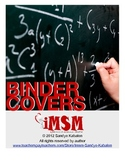 Binder Covers - 8th Grade Math Unit for the Common Core