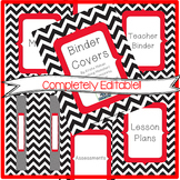 Binder Covers AND Calendar BUNDLE- {EDITABLE!!}