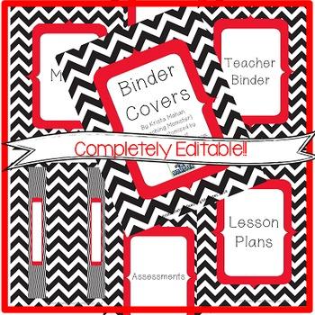 Binder Covers AND Calendar BUNDLE- {EDITABLE!!}