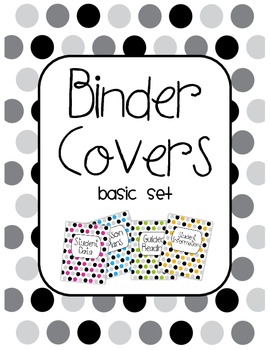 Binder Covers Basic Set