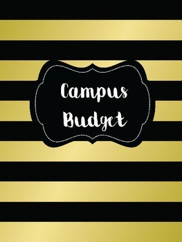 Binder Covers - Black and Gold for Administrators