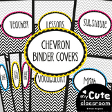 Chevron Teacher Binder