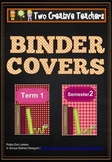 Binder Covers Book Theme