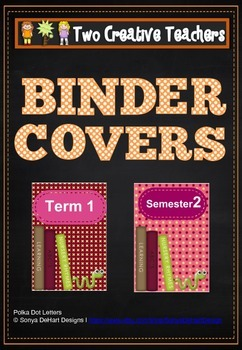 Binder Covers Book Theme