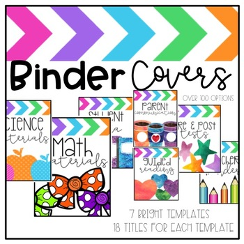 Binder Covers and Spines (Editable)