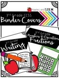 Binder Covers CCSS 3rd Grade