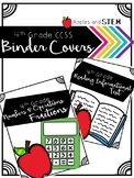 Binder Covers CCSS 4th Grade