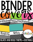 Binder Covers (EDITABLE)