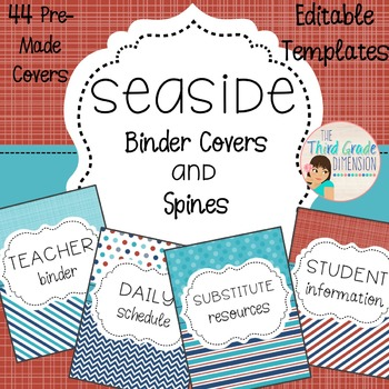 Student Color Binder Covers Worksheets & Teaching Resources