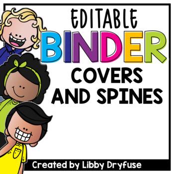 Binder Covers  - Editable!