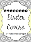Binder Covers {Editable}