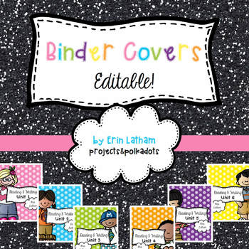 Binder Covers: Editable!