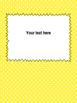 Binder Covers Editable