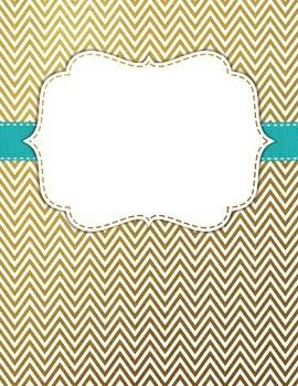 Binder Covers Editable FREEBIE