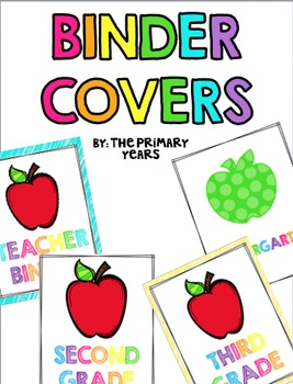 Teacher Binder Cover {FREEBIE!}