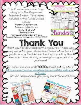 Binder Covers - FREEBIE {Editable}