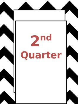 Binder Covers For Quarterly Materials