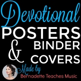 Binder Covers & Frameables: Inspirational Scriptures for Educators