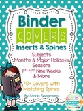 Editable Binder Covers, Inserts, and Spines Organization i