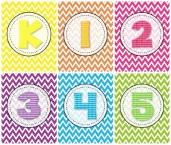 Binder Covers Kinder thru Fifth K-5