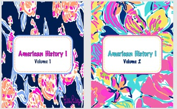 Binder Covers - Lilly Inspired! Editable!