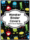 Binder Covers and Spines: Monsters