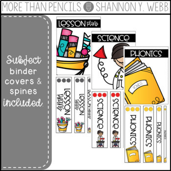 Binder Covers {& More!}