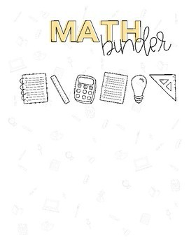 Binder Covers - Multiple Subjects