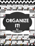 Binder Covers - Organize It!
