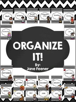 Binder Covers - Organize It!