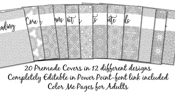Binder Covers Pack Color Me Happy {Editable}