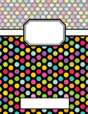 Binder Covers: Polka Dots