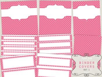 Binder Covers Set 1