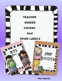 Binder Covers & Spine Labels