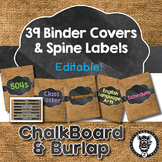 Binder Covers / Spine Labels