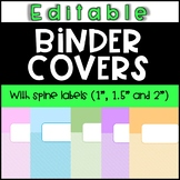 Binder Covers & Spine Labels! (FREE & EDITABLE)