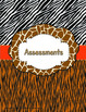 Binder Covers / Spine Labels - ZisforZebra - Animal Print