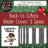 Binder Covers & Spines - Back-to-School Decor