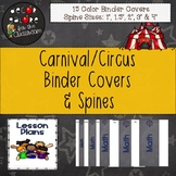 Binder Covers & Spines - Carnival / Circus Decor