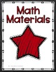 Binder Covers & Spines - Chalkboard Stars Decor