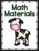 Binder Covers & Spines - Farm Animals Decor