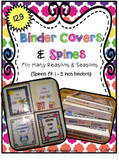 Binder Covers & Spines for Many Reasons & Seasons~ 137 Cov
