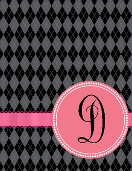 Binder Covers ~ The Argyle Collection in PDF