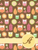Binder Covers ~ The Owl Collection in PDF :)