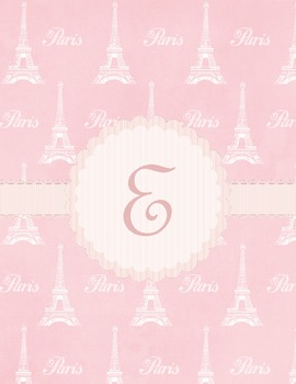 Binder Covers ~ The Paris Collection in PDF