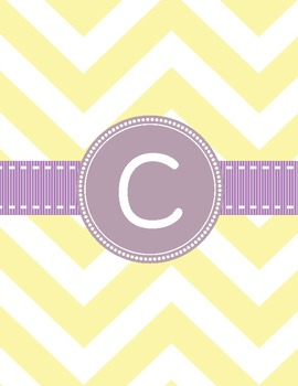 Binder Covers ~ The Pastel Polka Dot/Chevron Collection in PDF :)