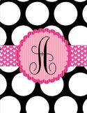 Binder Covers ~ The Polka Dot Collection
